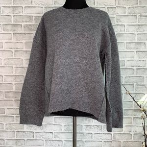 Madewell Connection Wool Blend Sweater Size Small